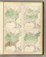 Maps showing the range, and within the range, the degree of cultivation of certain principal crops. Compiled from the statistics of agriculture, ninth census 1870, by Francis A. Walker. (Julius Bien, Lith., 1874)