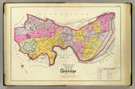 Outline and index map of the city of Cambridge. (1903)