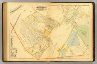 Part of ward 24 (i.e. 25?), Brighton, city of Boston. Copyright 1899 by L.J. Richards, Springfield, Mass.