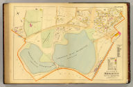 Part of ward 25, Brighton, city of Boston. Copyright 1899 by L.J. Richards, Springfield, Mass.