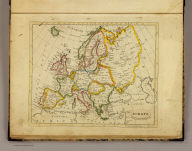 Europe. Published by J.V. Seaman, 296 Pearl St., N. York. (1821)