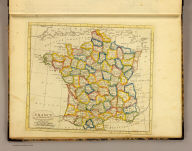 France in departments. Published by J.V. Seaman, 296 Pearl St., N. York. (1821)