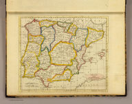 Spain and Portugal. Published by J.V. Seaman, 296 Pearl St., N. York. (1821)