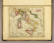 Italy. Published by J.V. Seaman, 296 Pearl St., N. York. (1821)