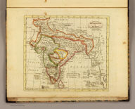 Hindoostan or India. Published by J.V. Seaman, 296 Pearl St., N. York. (1821)