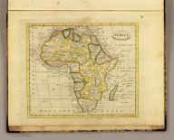 Africa. Published by J.V. Seaman, 296 Pearl St., N. York. (1821)