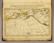 A map of the discoveries made by Capts. Cook & Clerke in the years 1778 & 1779 between the eastern coast of Asia and the western coast of North America when they attempted to navigate the North Sea, also Mr. Hearn's discoveries to the north westward of Hudson's Bay. Published by J.V. Seaman, 296 Pearl St., N. York. (1821)