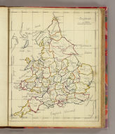 England and Wales. (By Frances Bowen. 1810)