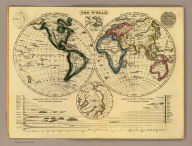The World. (By William C. Woodbridge of the state of Connecticut. 1824?)
