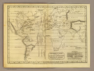 Isothermal chart, or view of climates & production, drawn from the accounts of Humboldt & others, by W.C. Woodbridge. Entered ... 1823 by William C. Woodbridge of the state of Connecticut. (1824?)