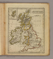 British Isles. (with) Shetland Isles. (Boston: Hilliard, Gray, Little and Wilkins, 1826)