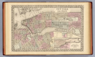 New York and Brooklyn. Entered ... 1879 by S. Augustus Mitchell ... Washington. (1880)