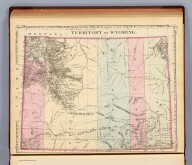 Territory of Wyoming. (By S. Augustus Mitchell. 1880)