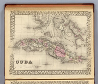 Cuba. Entered ... 1879 by S. Augustus Mitchell ... Washington. (1880)