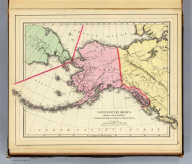 Northwestern America showing the territory ceded by Russia to the United States. Reduced from the map published by the U.S.C.S. Dept. Copyright 1887(?) by Wm. M. Bradley & Bro. (1890)