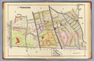 Part of Yonkers. Plate 6. (A.H. Mueller, lith., Philada., 1907)