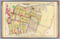 Part of Yonkers. Plate 8. (A.H. Mueller, lith., Philada., 1907)