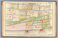 Part of Yonkers. Plate 11. (A.H. Mueller, lith., Philada., 1907)