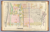 Part of Yonkers. Plate 12. (A.H. Mueller, lith., Philada., 1907)