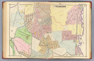 Part of Yonkers. Plate 21. (A.H. Mueller, lith., Philada., 1907)