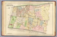 N.W. section borough of the Bronx. Plate 25. (A.H. Mueller, lith., Philada., 1907)