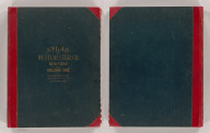(Covers to) Atlas of Westchester County, New York. Volume one. From actual surveys and official plans by George W. and Walter S. Bromley, civil engineers. Published by G.W. Bromley and Co. 147 N. Fifth St., Philadelphia. 1910.
