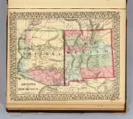 Arizona and New Mexico. Entered ... 1870 by S. Augustus Mitchell, Jr. ... Pennsylvania.
