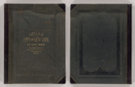 (Covers to) Atlas of the city of New York 23rd & 24th wards. From actual surveys and official plans by George W. and Walter S. Bromley, civil engineers. Published by G.W. Bromley and Co. 222 S. Fifth St. Philadelphia. 1893.