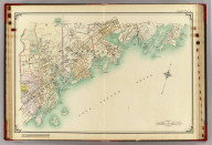 Double Page 2. (Atlas of the rural country district north of New York City embracing the entire Westchester County, New York, also a portion of Connecticut ... Published by E. Belcher Hyde, 1908)
