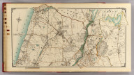 Double Page 6. (Atlas of the rural country district north of New York City embracing the entire Westchester County, New York, also a portion of Connecticut ... Published by E. Belcher Hyde, 1908)