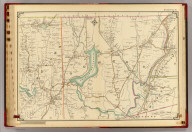 Double Page 16. (Atlas of the rural country district north of New York City embracing the entire Westchester County, New York, also a portion of Connecticut ... Published by E. Belcher Hyde, 1908)