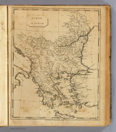 Turkey in Europe. From Arrowsmith's map of Turkey in Europe. (Boston: Published by Thomas & Andrews. 1812)