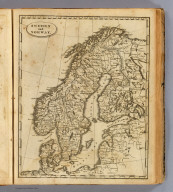 Sweden and Norway. Engraved by F. Shallus. (Boston: Published by Thomas & Andrews. 1812)