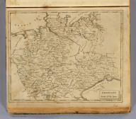 Germany north of the Mayn. Engraved by Thomas Marshall. Rul'd by Hooker. From Chanchards Germany. (Boston: Published by Thomas & Andrews. 1812)