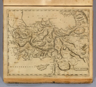 Asia Minor. From various authorities. J.H. Seymour sc. Published by Thomas & Andrews. (1812)
