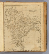 Hindoostan. From Arrowsmith's map of Asia. Scoles sculp. (Boston: Published by Thomas & Andrews. 1812)