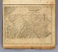 Pennsylvania. Drawn by S. Lewis. Engd. by D. Fairman. (Boston: Published by Thomas & Andrews. 1812)