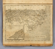 North Carolina. Drawn by S. Lewis. Tanner sc. (Boston: Published by Thomas & Andrews. 1812)