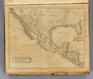 Spanish Dominions in North America. From various authorities. (Boston: Published by Thomas & Andrews. 1812)