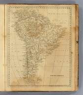 South America. Hooker sculpt. (Boston: Published by Thomas & Andrews. 1812)