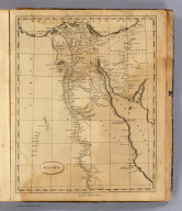 Egypt. From D'Anville. Ruld. by Hooker. J.H. Seymour sc. Published by Thomas & Andrews. (1812)