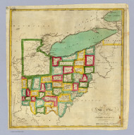 The state of Ohio with part of Upper Canada, &c. (Philadelphia: Robert DeSilver, 1827)