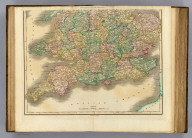 Southern part of England. Published by D. Lizars, Edinburgh. (1831?)