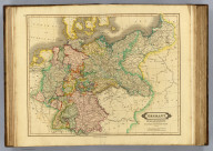 Germany. Prussian dominions and northern independent states. Published by D. Lizars, Edinburgh. (1831?)