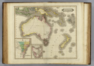Australia &c. (with) Colony of New South Wales. (with) Van Dieman's Land. Published by D. Lizars, Edinburgh. (1831?)