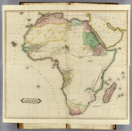 (Composite of) Africa. Published by D. Lizars, Edinburgh. (1831?)