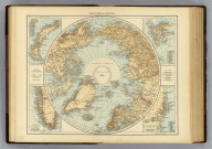 "North Polar Regions. (with) Novaya Zemlya. (with) Spitzbergen and Bear Island. (with) Coast of east Greenland between 720 and 770 north latitude. (with) South-west Greenland. (Published at the office of ""The Times,"" London, 1895)"