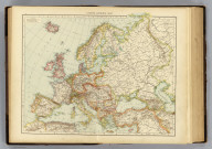 "Europe, general map. (Published at the office of ""The Times,"" London, 1895)"