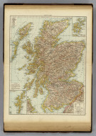 "Scotland. (with) Orkney Islands. (with) Shetland Islands. (Published at the office of ""The Times,"" London, 1895)"