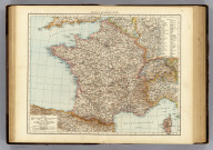 "France, general map. (Published at the office of ""The Times,"" London, 1895)"